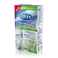 Optone Actimist Spray Oculaire Yeux Fatigués + Inconfort Fl/10ml à DIGNE LES BAINS
