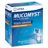 Mucomyst 200 Mg Poudre Pour Solution Buvable En Sachet B/18 à DIGNE LES BAINS