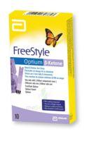 Freestyle Optium Beta-cetones électrodes B/10 à DIGNE LES BAINS