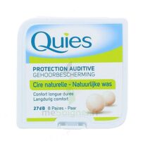 Quies Protection Auditive Cire Naturelle 8 Paires à DIGNE LES BAINS