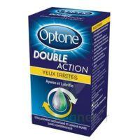 Optone Double Action Solution Oculaire Yeux Irrités Fl/10ml à DIGNE LES BAINS