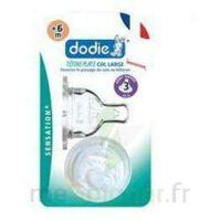 Dodie Sensation+ Tétine Plate Débit 2 Silicone 0-6mois à DIGNE LES BAINS