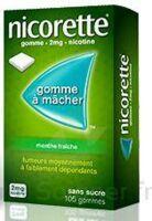 Nicorette 2 Mg Gom à Mâcher Médic Sans Sucre Menthe Fraîche Plq/30gom à DIGNE LES BAINS