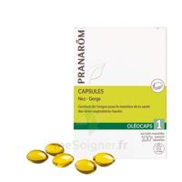 Pranarom Oleocaps 1 Caps Nez Gorge Oreilles à DIGNE LES BAINS