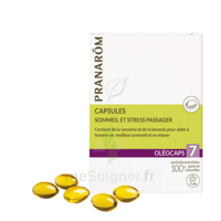 Pranarom Oleocaps 7 Caps Sommeil & Stress Passager à DIGNE LES BAINS