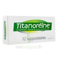 Titanoreine Suppositoires B/12 à DIGNE LES BAINS