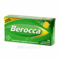 Berocca Comprimés Effervescents Sans Sucre T/30 à DIGNE LES BAINS