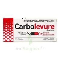 Carbolevure Gélules Adulte Plq/30 à DIGNE LES BAINS