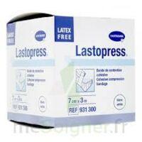 Lastopress® Bande De Compression Cohésive 7 Cm X 3 Mètres - Coloris Blanc à DIGNE LES BAINS
