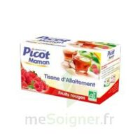 Picot Maman Tisane D'allaitement Fruits Rouges 20 Sachets à DIGNE LES BAINS