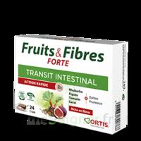 Ortis Fruits & Fibres Forte Cube à Mâcher B/24 à DIGNE LES BAINS