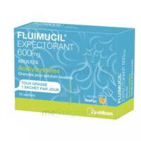 Fluimucil Expectorant Acetylcysteine 600 Mg Glé S Buv Adultes 10sach à DIGNE LES BAINS