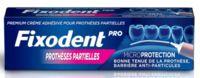 Fixodent Pro Crème Adhésive Pour Prothèse Partielle T/40g à DIGNE LES BAINS