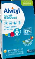 Alvityl Sucette Mal Des Transports B/10 à DIGNE LES BAINS