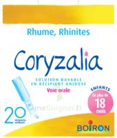 Boiron Coryzalia Solution Buvable Unidose B/20 à DIGNE LES BAINS