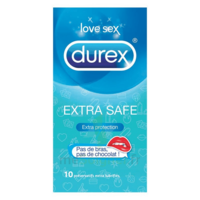 Durex Extra Safe Préservatif B/10 à DIGNE LES BAINS