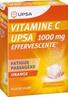 Vitamine C Upsa Effervescente 1000 Mg, Comprimé Effervescent à DIGNE LES BAINS